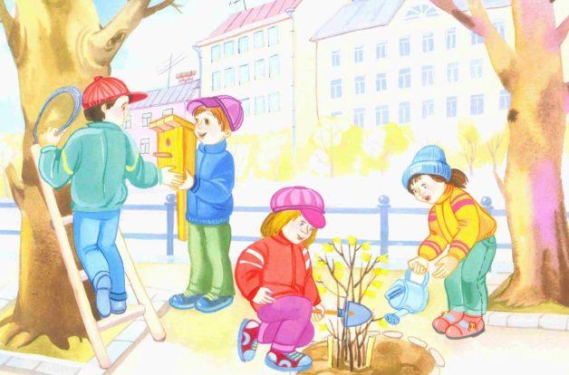 детские загадки про весну